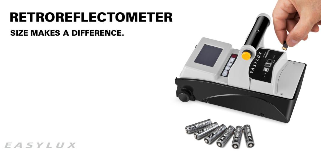 MiniReflecto. The Mini retroreflectometer