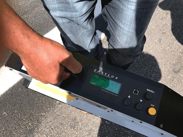 Retrorrefletometro EASYLUX 15-metros