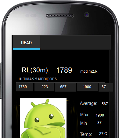 Retroreflectometer Android App
