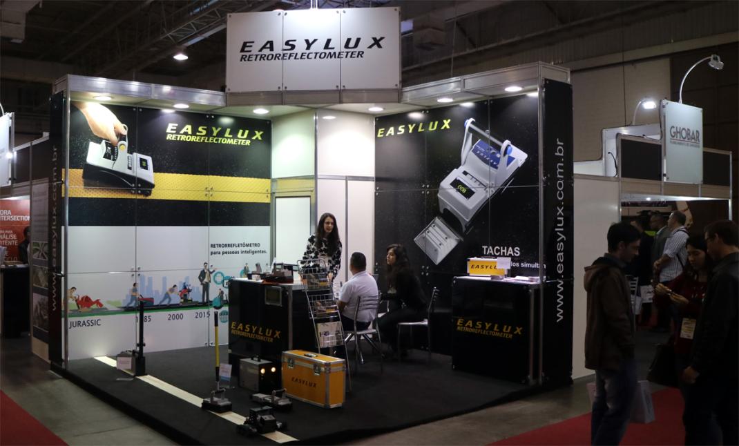 Transpoquip 2017. Easylux retrorrefletômetros